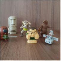 6 brinquedos diversos -  - Mc Donald`s