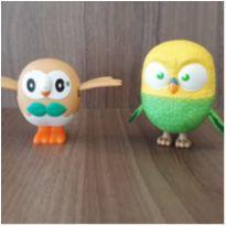 Pássaros Mc donalds 2 brinquedos -  - Mc Donald`s