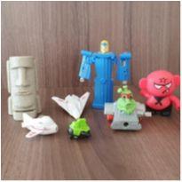 7 brinquedos diversos -  - Mc Donald`s e Outras