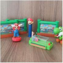 Coleção brinquedos Super Mário  - 8 brinquedos. -  - Mc Donald`s