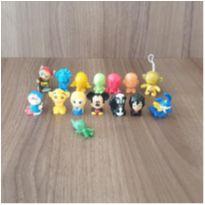 Coleção miniaturas lindas! 15 brinquedos -  - Mc Donald`s e Outras