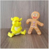 Dupla filme Shrek 2 brinquedos -  - Mc Donald`s