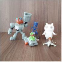 Lote com 5 brinquedos -  - Mc Donald`s e Outras