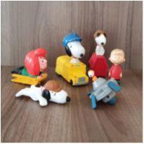Coleção linda Snoopy 6 brinquedos (3) -  - Mc Donald`s