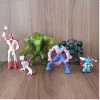 Kit personagens menino - 6 brinquedos -  - Diversas