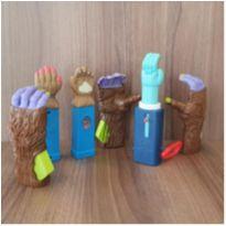 Coleção mãozinhas 6 brinquedos -  - Mc Donald`s