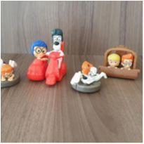 Coleção As aventuras de Peabody e Sherman 4 brinquedos -  - Mc Donald`s