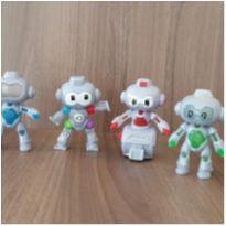 Coleção robôs Mc Donalds 4 brinquedos -  - Mc Donald`s