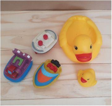 Lote brinquedos de banho bebê - Sem faixa etaria - Diversas