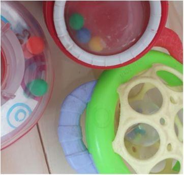 Trio brinquedos para bebê - Sem faixa etaria - Fisher Price e Outros