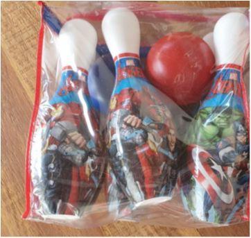 Jogo boliche avengers - Sem faixa etaria - Avengers