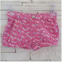 Shorts floral super fofo GYMBOREE Tam. 2T - 2 anos - Gymboree