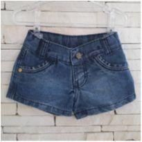 Shorts jeans fofo Tam. 2 menina - 2 anos - Clube do Doce