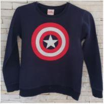 Blusa moletom capitão américa Tam. 12 - 12 anos - Avengers