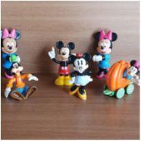Coleção personagens Disney 6 itens -  - Disney