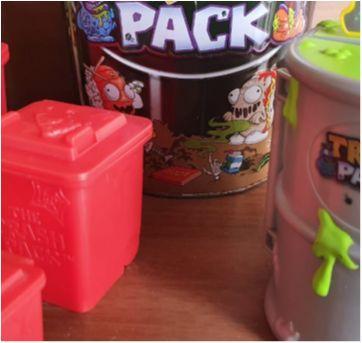 Brinquedos Trash Pack  21 itens - Sem faixa etaria - Moose