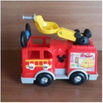 Carro bombeiro Mickey com som -  - Mattel