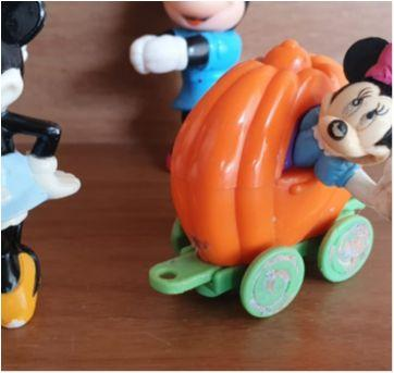 Coleção personagens Disney 6 itens - Sem faixa etaria - Disney