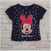 Blusa Minnie Tam. 3 menina - 3 anos - Disney