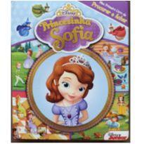 Livro - Princesinha Sofia: Meu Primeiro Livro de procurar e achar -  - Disney