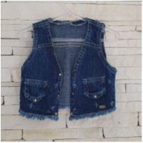 Colete jeans levinho Tam. 2 menina - 2 anos - etiqueta foi cortada