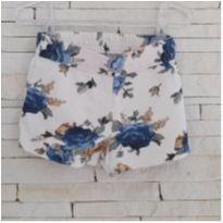 Shorts floral Tam. 4 menina - 3 anos - Milon
