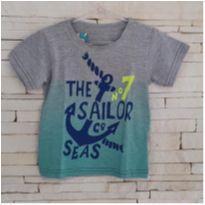 Camiseta marinheiro Tam. 1 menino - 1 ano - Serelepe