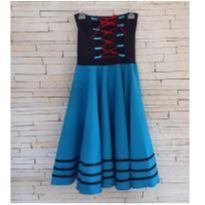 Vestido Fantasia Tam. 6 anos menina - 6 anos - Costureira