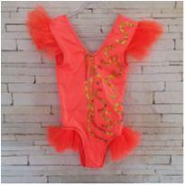 Fantasia body bordado lantejoulas Tam. 5 anos - 5 anos - Costureira