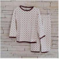 Conjunto pijama Tam. 2 unisex - 2 anos - Marca não registrada