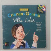 Livro - Crianças geniais - Villa- Lobos (livro bilíngue - inglês e português) -  - Livro