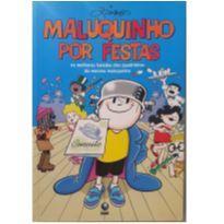 Livro - Maluquinho por festas (em quadrinhos) -  - Livro