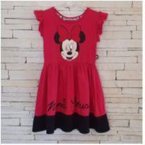 Vestido Minnie Tam. 4 - 4 anos - Disney