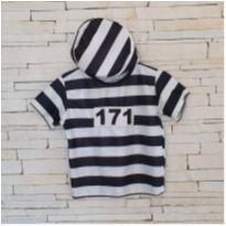 Fantasia prisioneiro Tam. 2 anos menino - 2 anos - etiqueta foi cortada