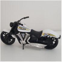 Brinquedo Moto policial -  - Marca não registrada