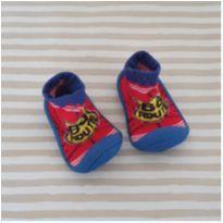 Sapato estilo meia emborrachadinha Tam. 17-18 menino - 17 - Keko Baby