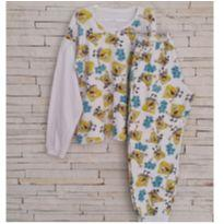 Conjunto pijama Bob Esponja Tam 5 anos menino - 5 anos - etiqueta foi cortada