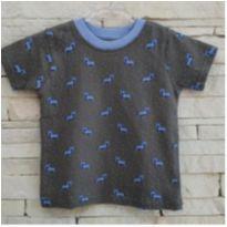 Camiseta tigrinhos - comprada em NY Tam. 1 menino - 1 ano - Little Rebels - USA