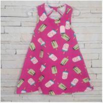 Vestido sorvetinhos Tam. 2 - 2 anos - Kyly