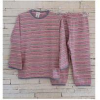 Conjunto pijama Tam. 3 menina - 3 anos - Marca não registrada