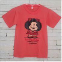 Camiseta Mafalda Tam. 2 modelagem grande) menina - 2 anos - Importada