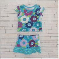 Conjunto floral fofo Tam. 2T PLACE - 2 anos - Place