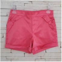 Shorts cetim lindo Tam. 10 menina - 10 anos - Anjos Chic