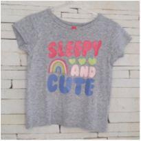 Blusa pijama CARTERS Tam. 2T menina - 2 anos - Carter`s