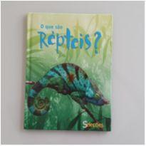 Livro - O que são répteis (capa dura) -  - Livros