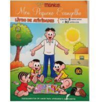 Meu pequeno evangelho - livro de atividades TURMA DA MÔNICA -  - Livros