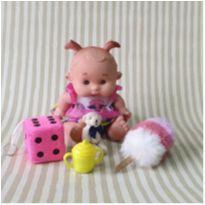 Kit boneca com acessórios -  - Diversos