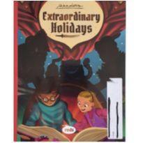 Livro - História e questões em inglês -  - Livros