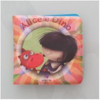 Livro de banho Alice e Dino -  - Livros