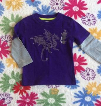 camiseta dragão gymboree - 18 a 24 meses - Gymboree